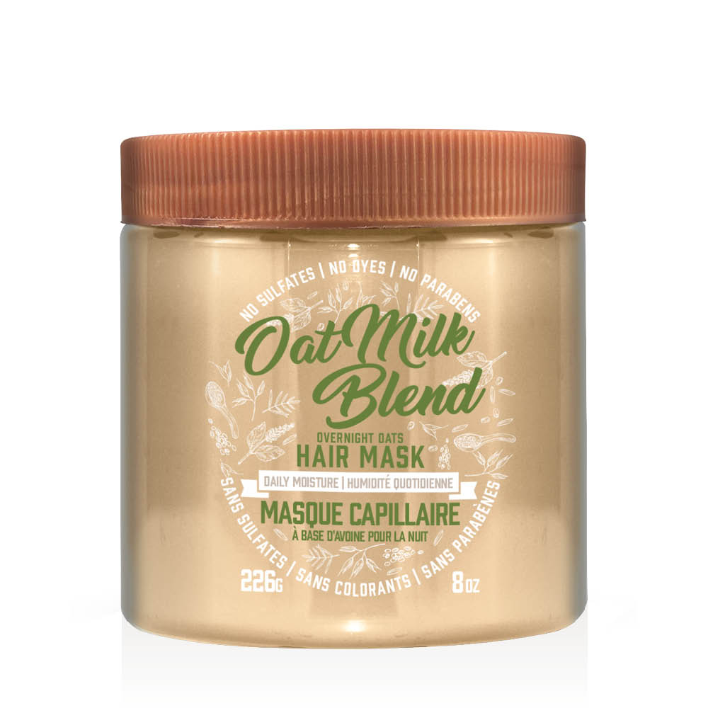 aveeno oat milk hair mask tub