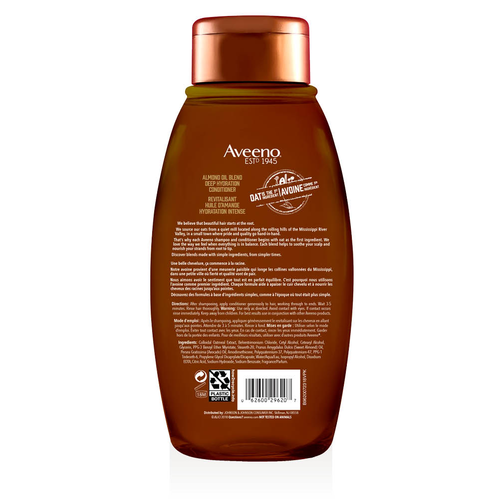 aveeno almond oil hair conditioner 354 ml bottle