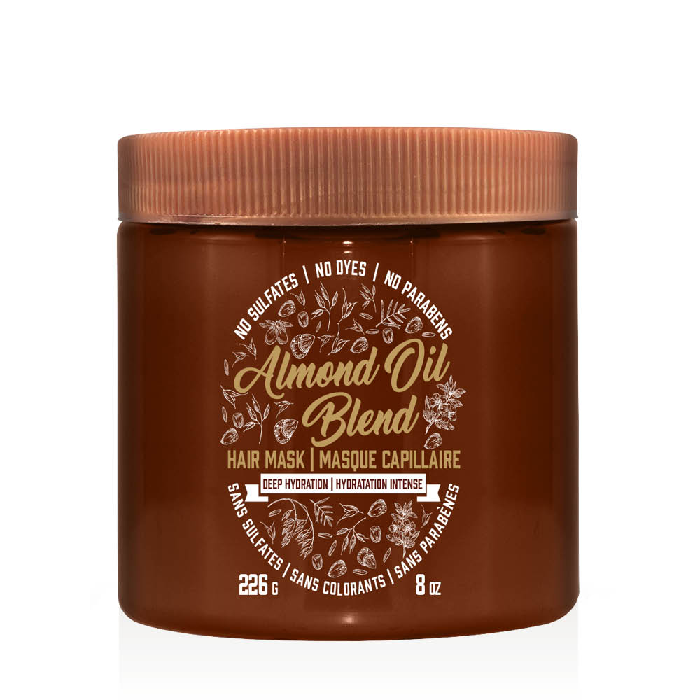aveeno almond oil hair mask tub