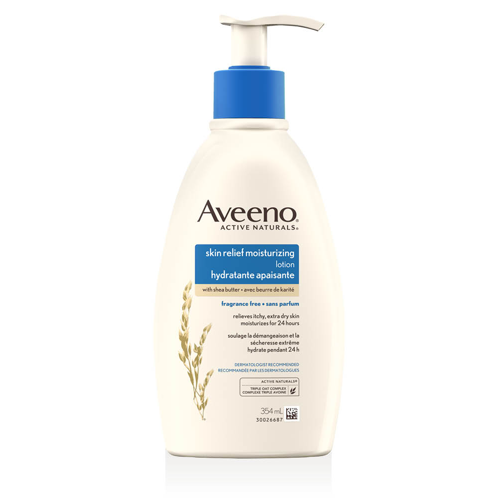 aveeno skin relief moisturizing lotion pump dispenser