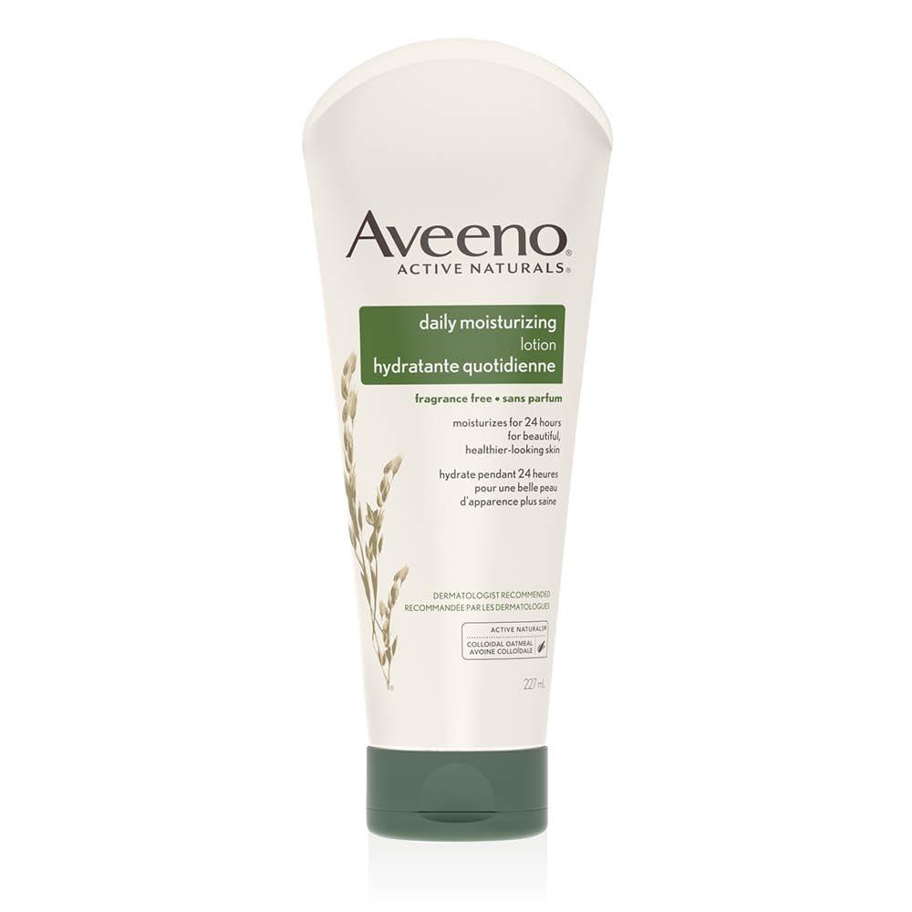 aveeno daily moisturizing lotion tube