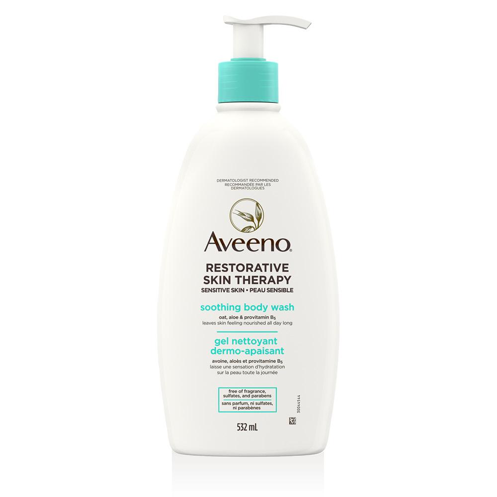 AVEENO® Restorative Skin Therapy Body Wash, 532mL pump