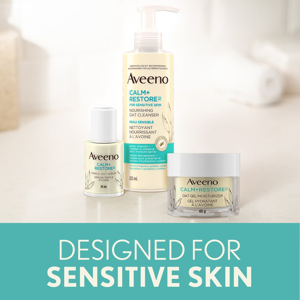 AVEENO® Calm + Restore Products Designed for Sensitive Skin