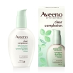 aveeno clear complexion face moisturizer box and pump