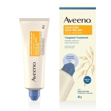 aveeno cracked skin relief cica ointment tube and box