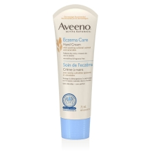 aveeno eczema care hand lotion tube
