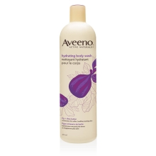 aveeno hydrating body wash bottle