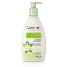 Flacon-pompe de la lotion pour le corps Aveeno positively radiant
