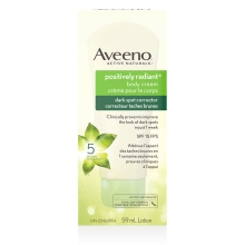 aveeno positively radiant dark spot corrector box