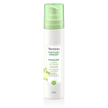aveeno maxglow face cleanser bottle