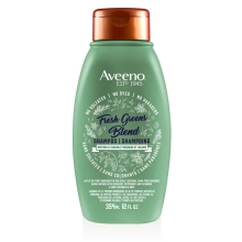 aveeno fresh greens shampoo bottle