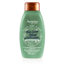 aveeno fresh greens 2 in 1 hair shampoo bottle