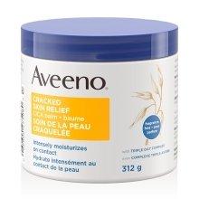 aveeno cracked skin relief cica body balm tub