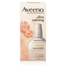aveeno ultra calming spf 15 daily moisturizer for face box