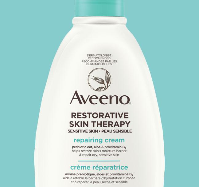Crème réparatrice AVEENO® Restorative Skin Therapy, flacon-pompe de 340 g