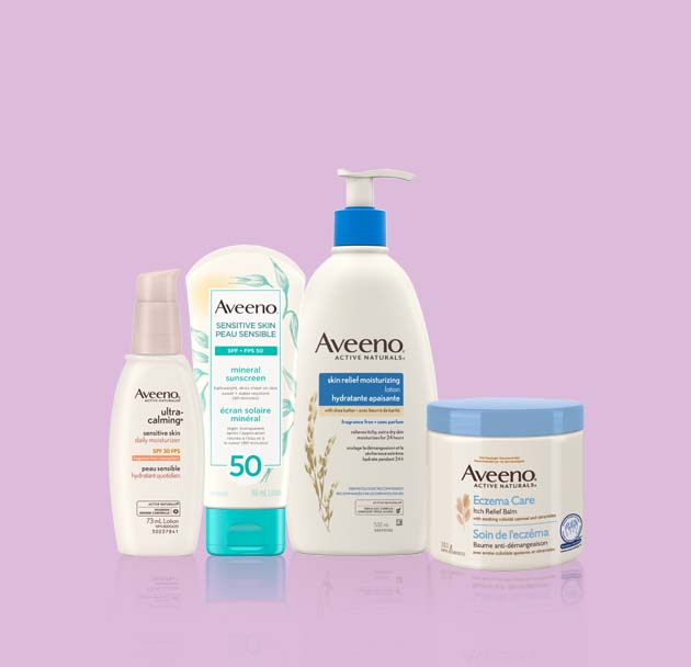 AVEENO® skin care products