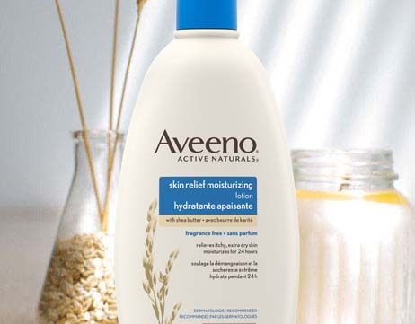AVEENO® Skin Relief Moisturizing Fragrance-Free lotion