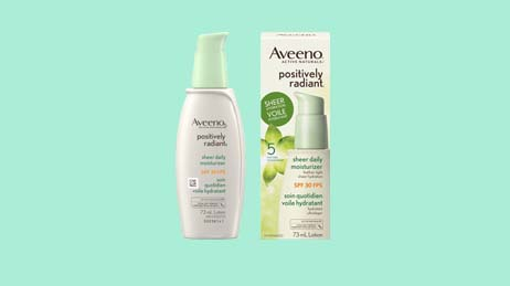AVEENO® Positively Radiant Moisturizer SPF 30