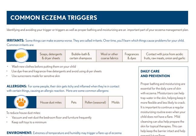 Common Eczema Triggers