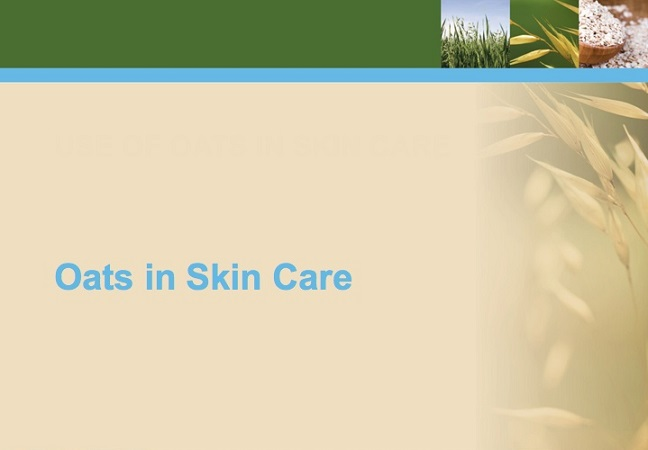 Oats in Skin Care
